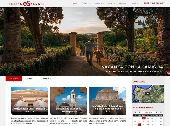 Sassari città del turismo: un portale web per promuovere il territorio
